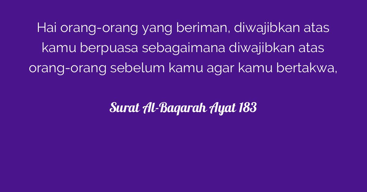 Surat Al-Baqarah Ayat 183 | Tafsirq.com