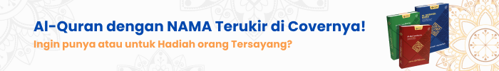 Ingin Punya Al-Qur'an dengan NAMA ANDA Terukir di Covernya?